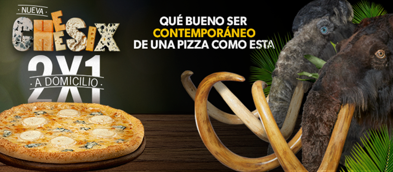 Domino´s Pizza lanza 'La nueva Cheesix'
