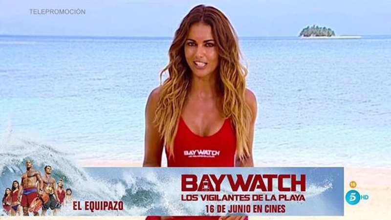 Product Placement de 'Baywatch' en 'Supervivientes'